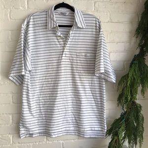 Brooks Brothers Button Collar Polo Shirt Medium